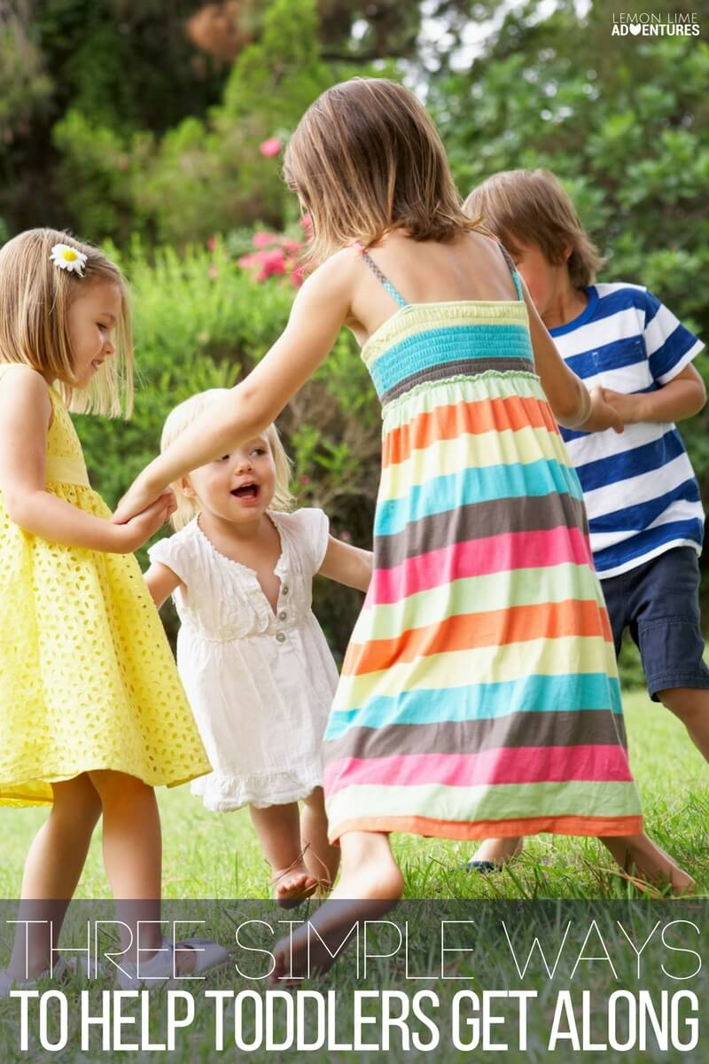 Three Simple Ways To Help Toddlers Get Along!