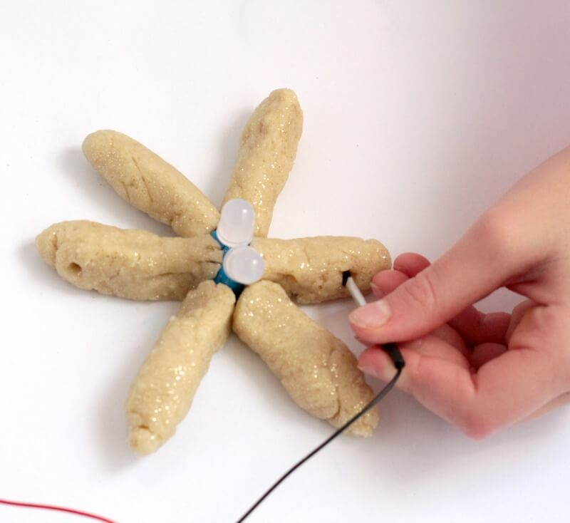 Squishy Circuits Snowflakes: Winter STEM Challenge