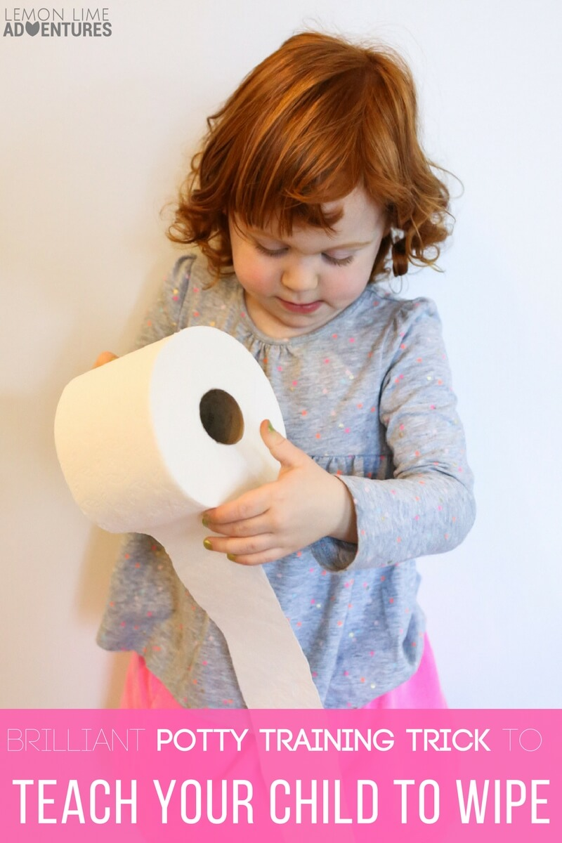 Brilliantly Creative Potty Training Trick to Teach Your