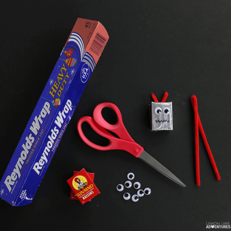 Robot Head Favor Non-Candy Printable Valentines!