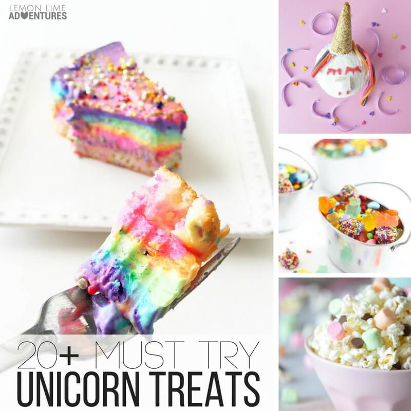 20+ must try unicorn treats for all kids