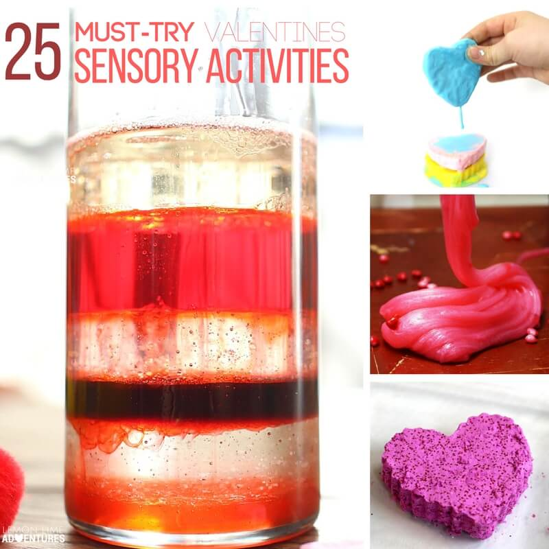 25 Must Try Valentine's Sensory Activities