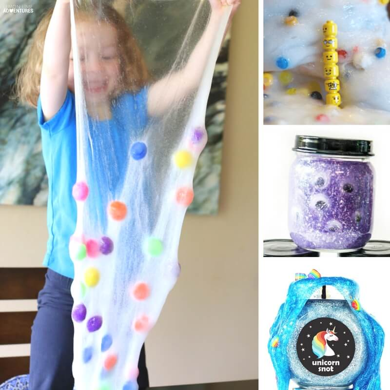 Fun Simple Slime Recipes