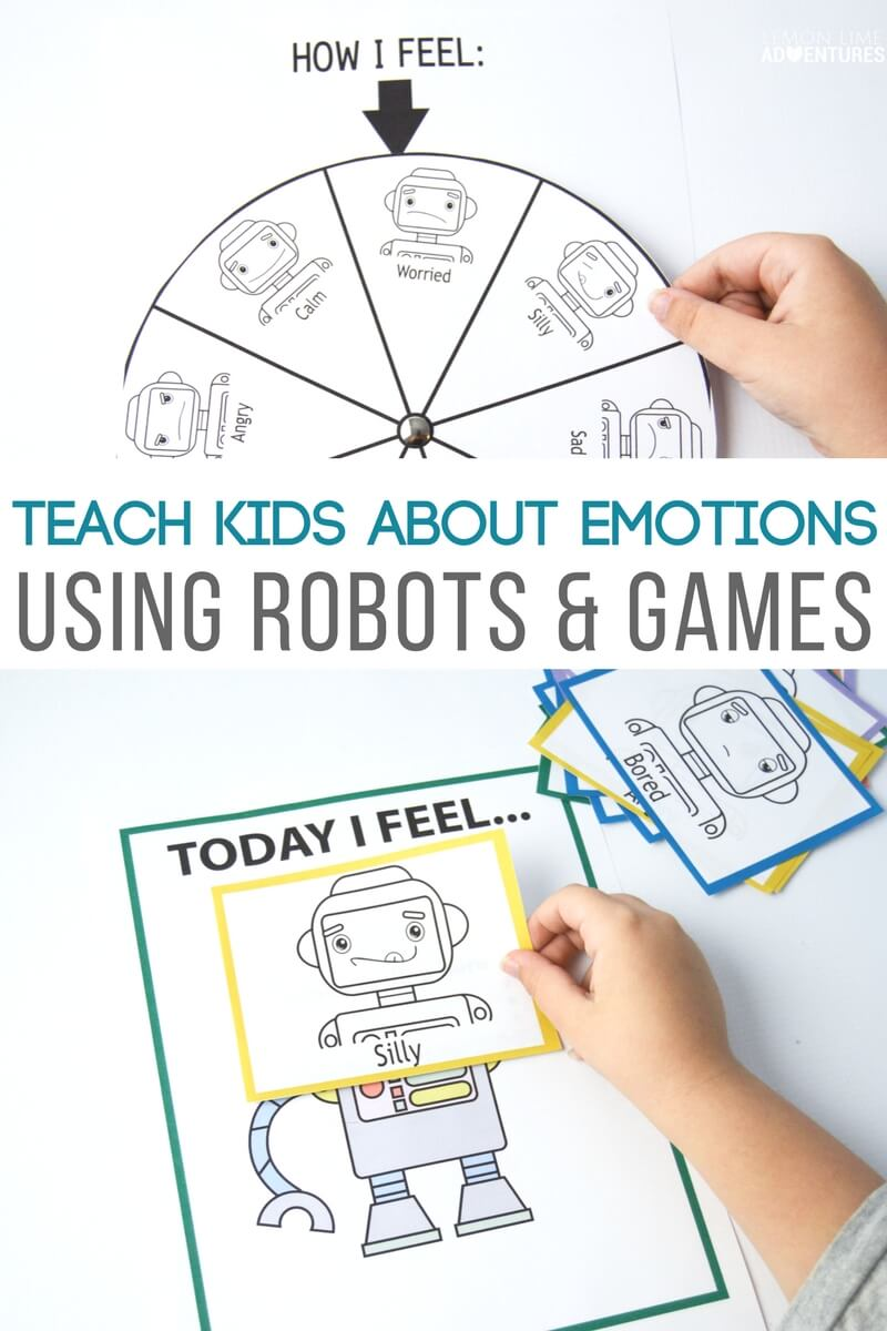 How to Teach Kids about Big Emotions Using Robots and Games