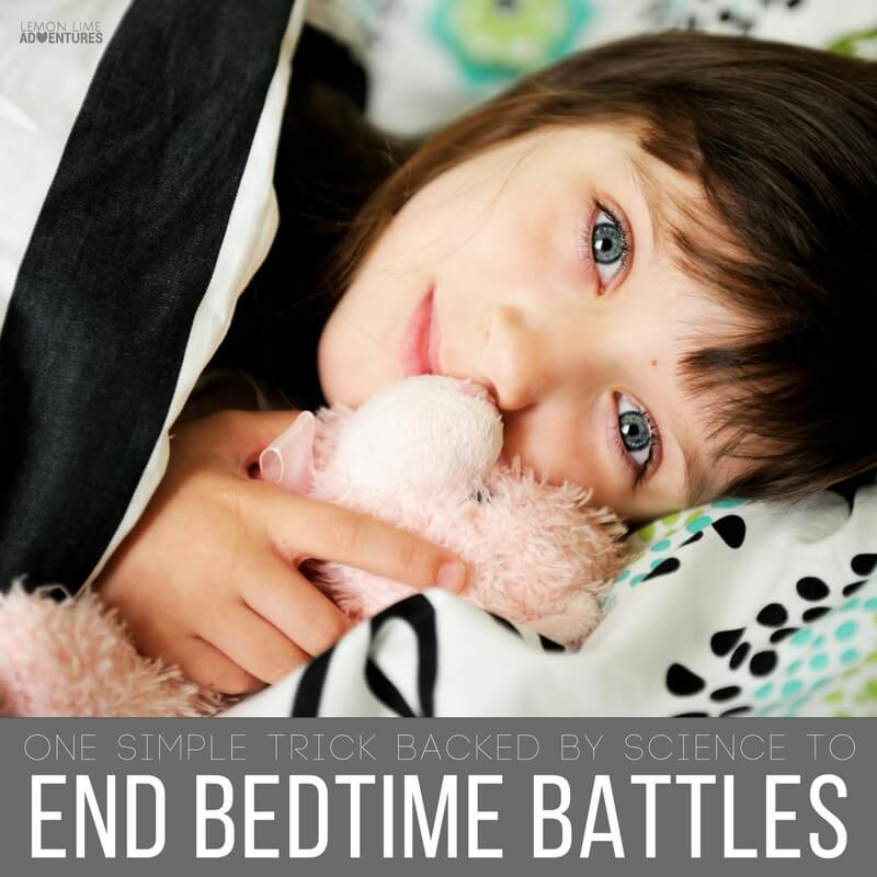 One Simple Tick Backed By Science To End Bedtime Battles