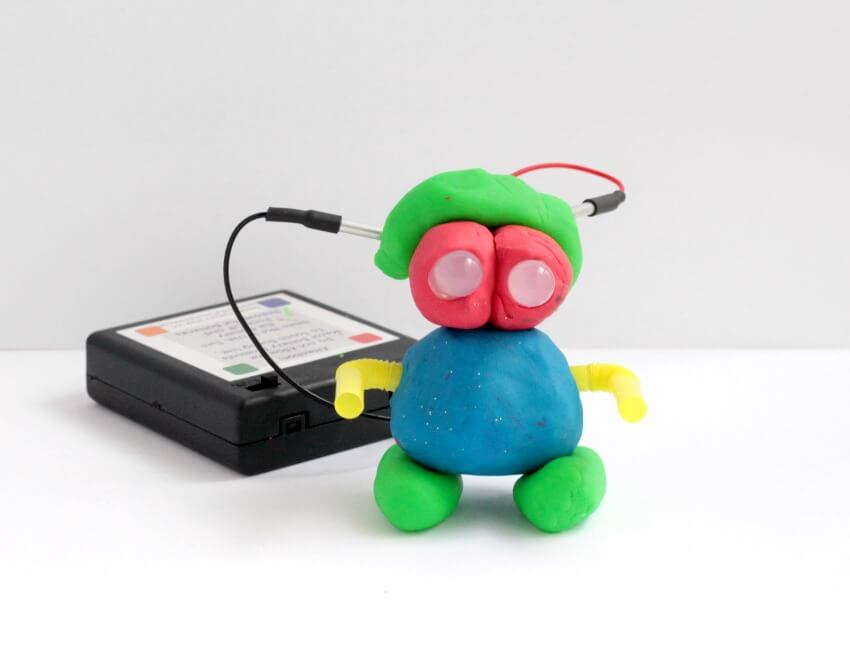 Squishy Circuit Robot: Electrical Engineering Design Challenge