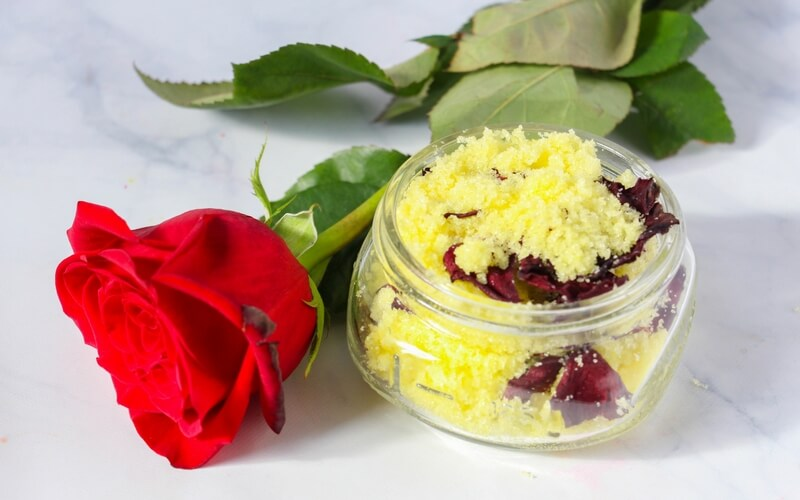 Non-Toxic Homemade Beauty and the Beast Sugar Scrub