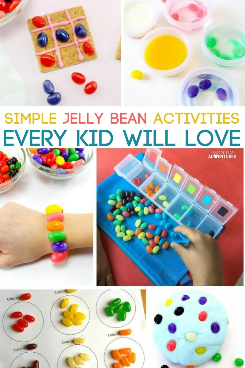 Simple Jelly Bean Activities Every Kid will Love