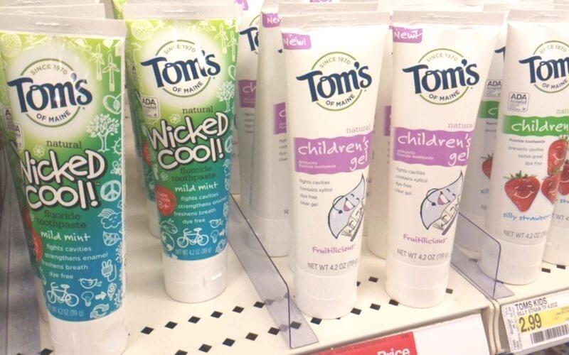 Tom's Of Maine Toothpaste