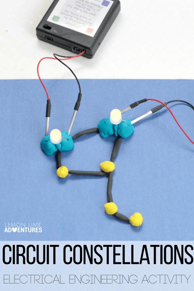 Learn about circuits for kids in this super fun Squishy Circuits activity! Make Squishy Circuits Constellations to learn more about how circuits work!