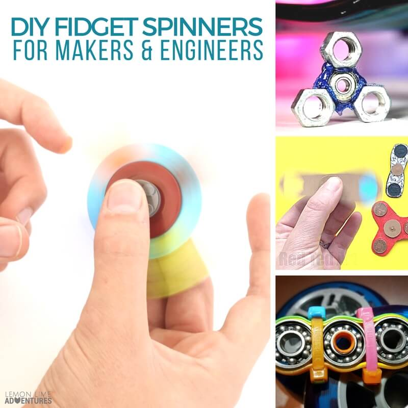 DIY FIDGET SPINNERS