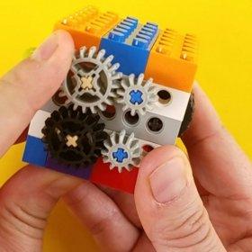 DIY Fidget Cube with lego