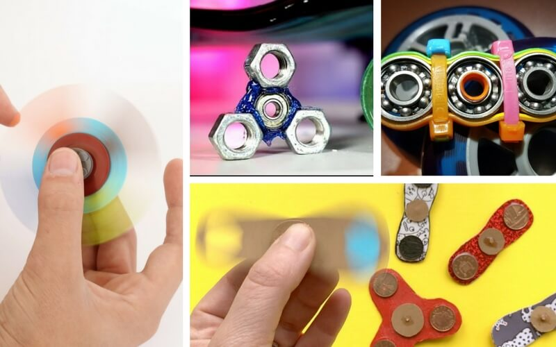Totally Rad DIY Fidget Spinners That Will Make Your Little Makers Go ...