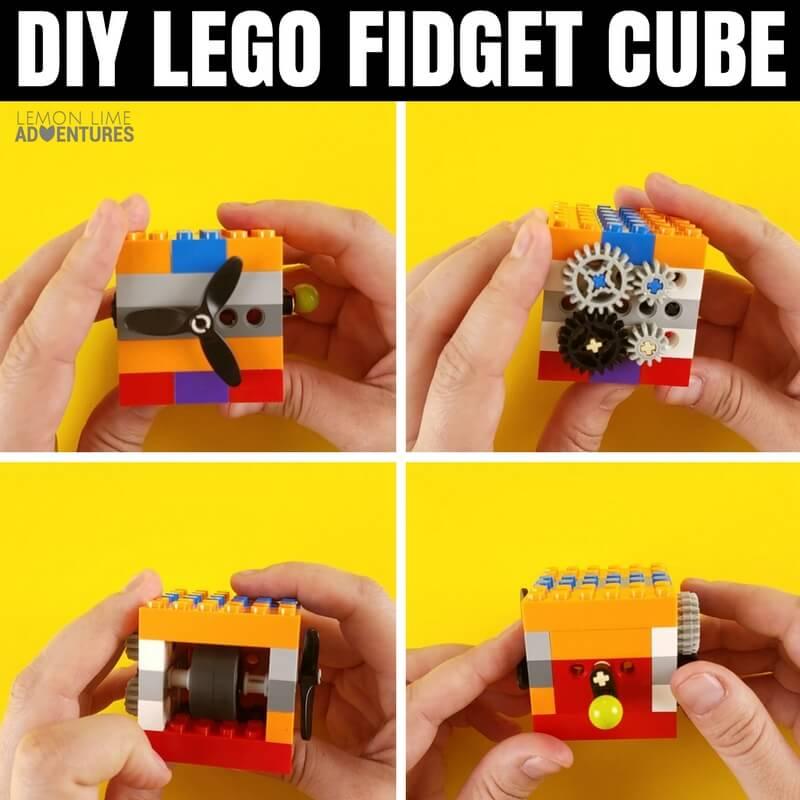 How to Build a DIY Lego Fidget Cube