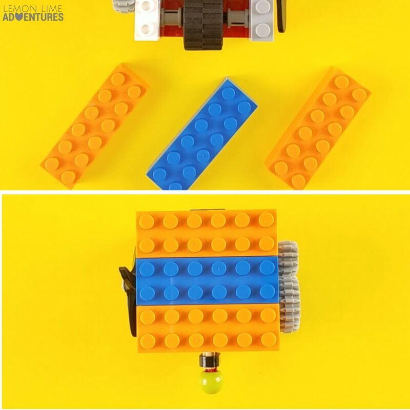 DIY lego Fidget Cube cover