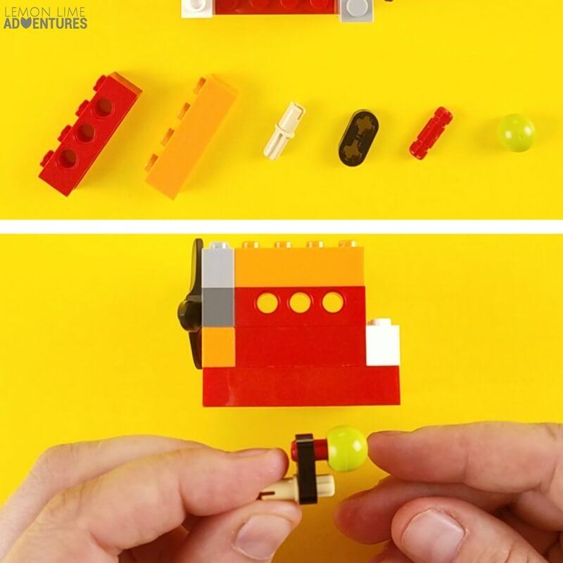 DIY lego Fidget Cube wall with Switch