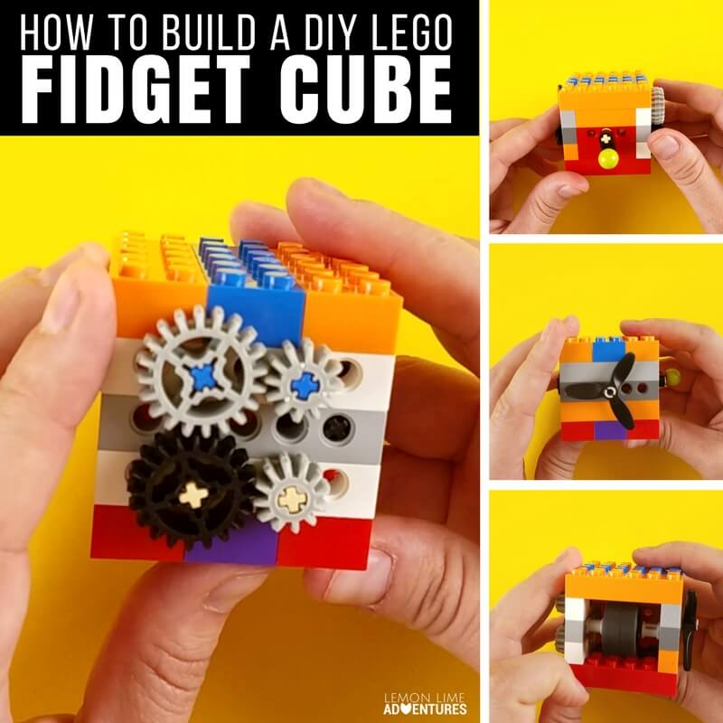 How to Build a DIY Lego Fidget Cube