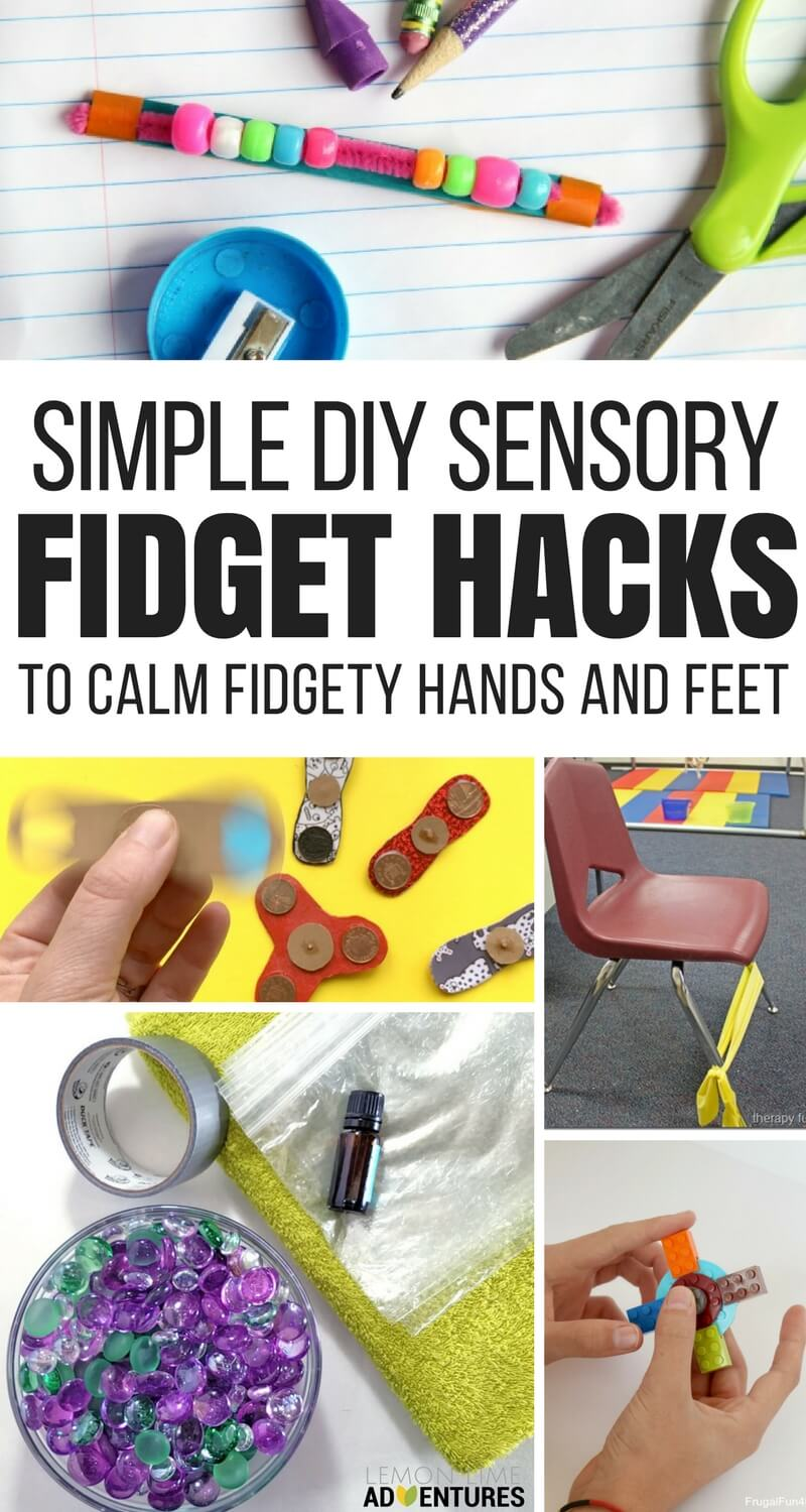 Sensory Hacks DIY Fidgets for Feet and Hands