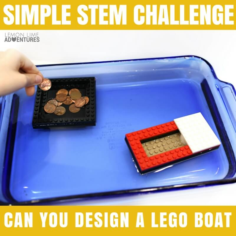 LEGO Stem Challenge Can you Design a Lego Boat-