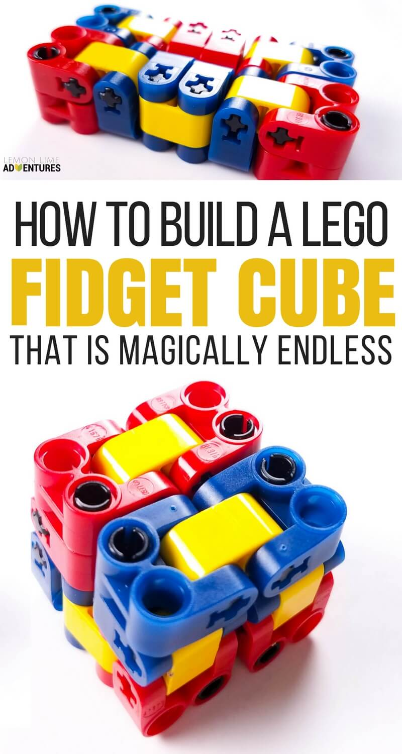 Magically Endless Lego Fidget Cube