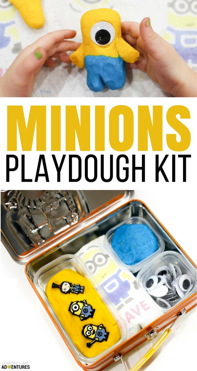 Super Simple Minion Playdough Kit