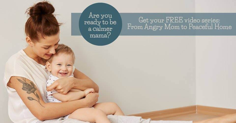 Tired of being an angry mom and yelling? Check out this FREE video series to go from Angry Mom to Calm Home!