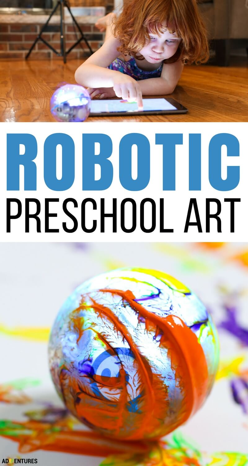 Robotic Preschool Art - Simple Coding for Kids