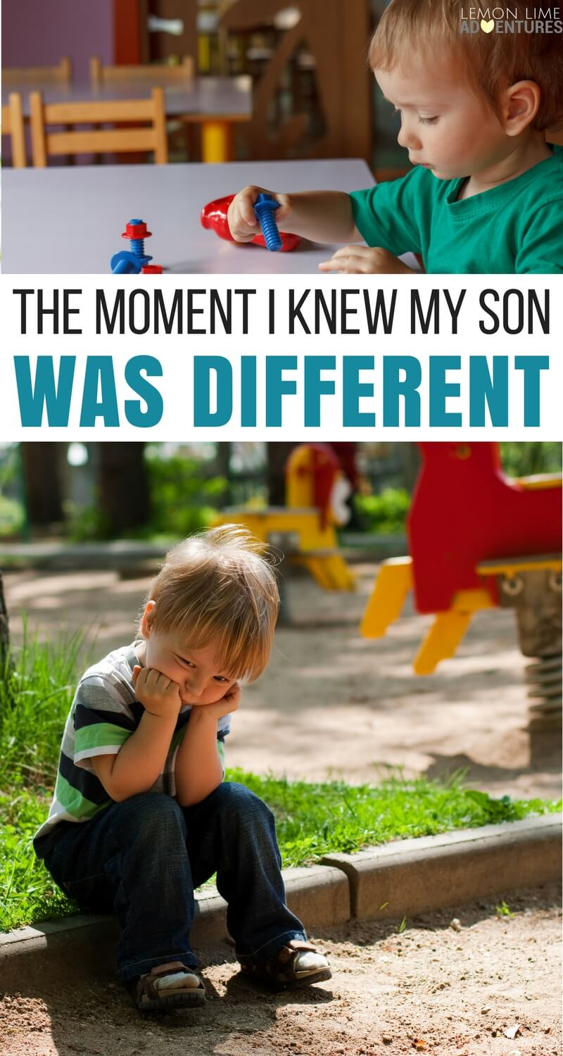 "The Moment I Knew My Son Was ""Different"""
