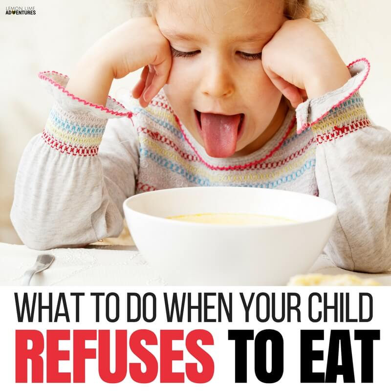 What to Do when Your Child Refuses to Eat