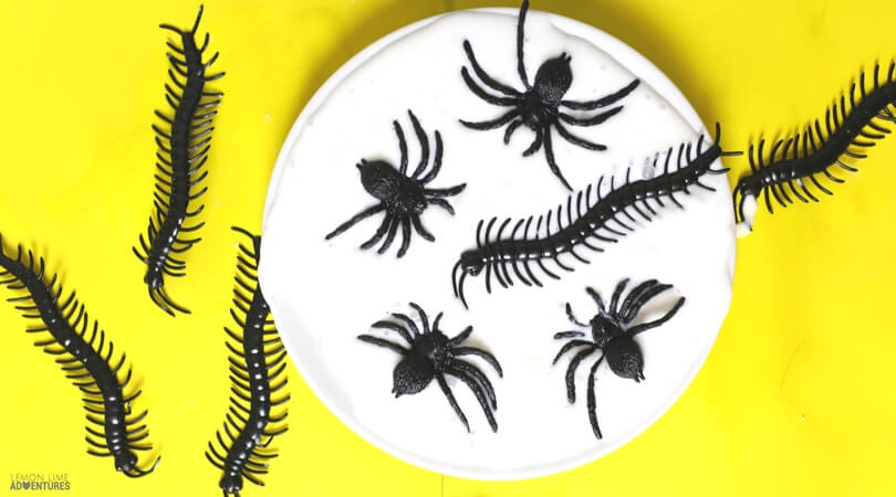Super Simple 3-Ingredient Creepy Crawly Slime