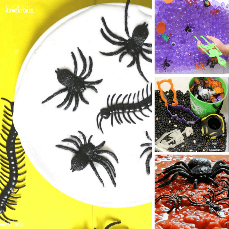 Totally Awesome Non-Spooky Sensory Play Ideas for Kids