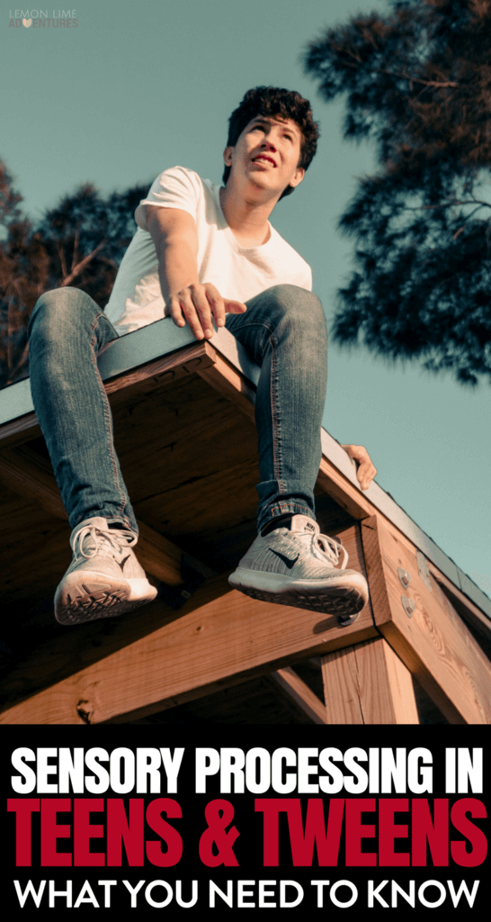 How do you support your teen with sensory processing difficulties when the sensory strategies they've loved their whole life don't work anymore?