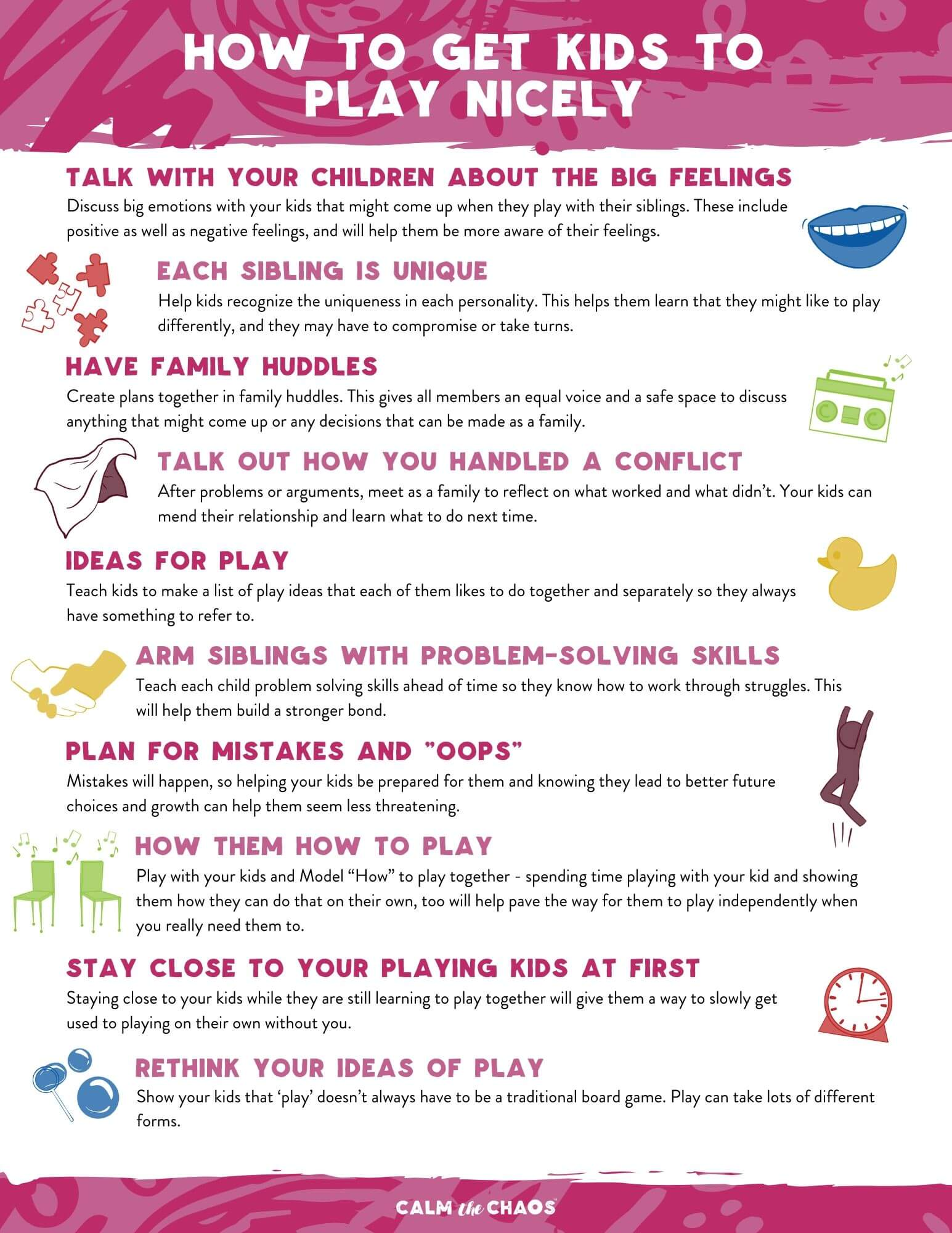 How to get Kids to Play Nicely