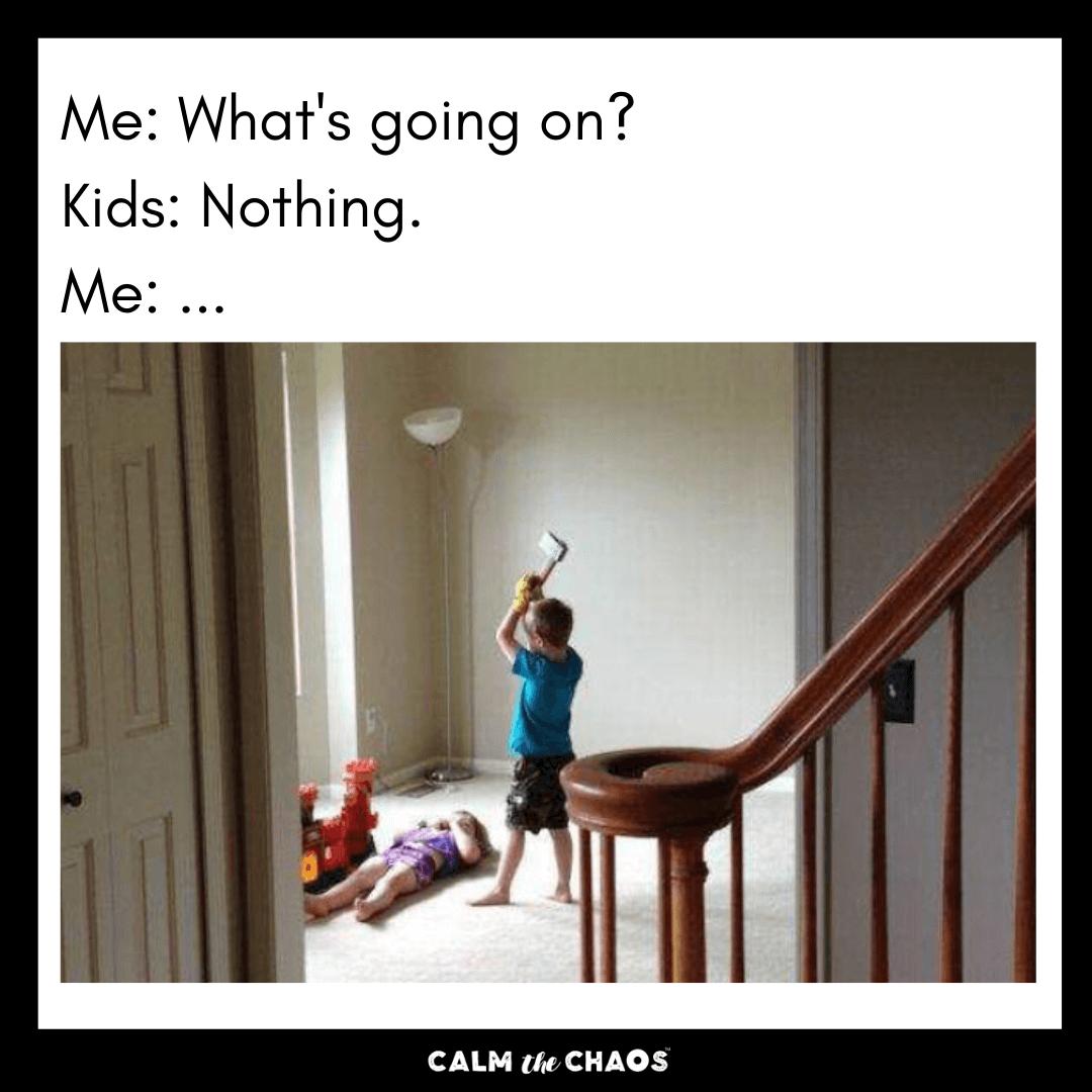 Sibling Get Along Meme