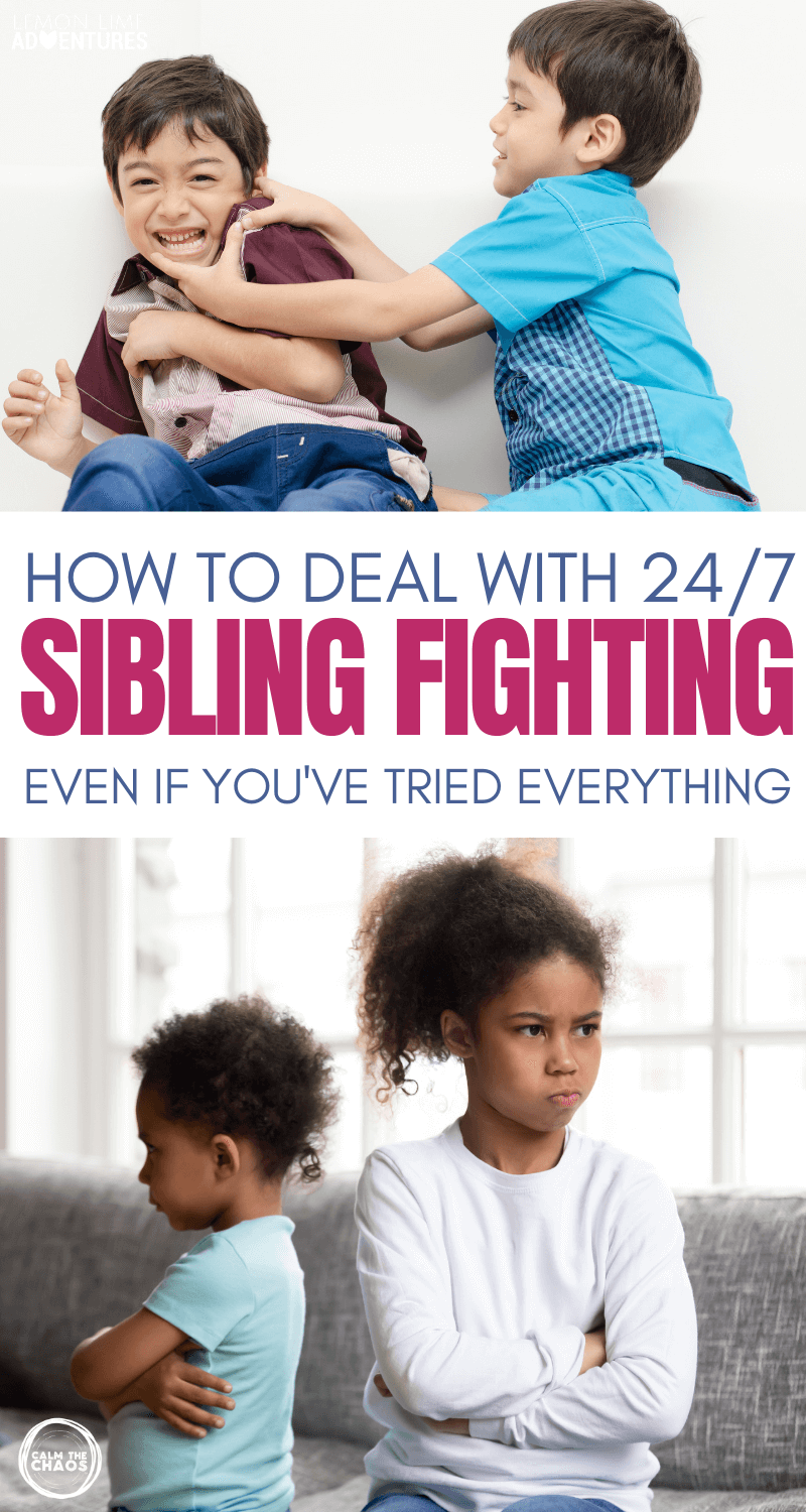 24-7 Sibling Fighting Solutions