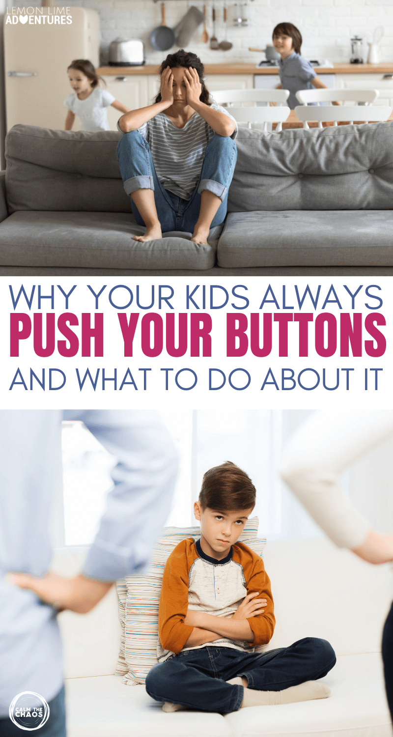 Why Kids Push Your Buttons
